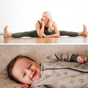 Barre Workout mit Baby