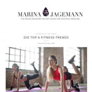 Marina Jagemann Online Magazin für Anti-Aging Top 6 Fitnesstrends März 2019Marina Jagemann Online Magazin für Anti-Aging Top 6 Fitnesstrends März 2019
