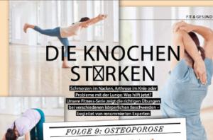 Plus Magazin Frau im Leben: Folge 9 Osteoporose.